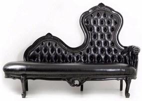 Sofá Clássico Capitonê Madeira Maciça Design de Luxo Peça Artesanal