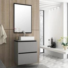 Gabinete Para Banheiro Elegante MDF 60cm Lilies Móveis