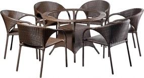 Conjunto Mesa e 6 Cadeiras Cancun - Área Externa