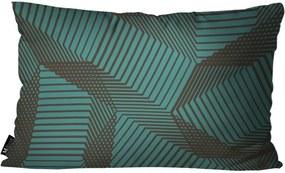Capa para Almofada Abstrato 30x50cm Colorido -30x50cm