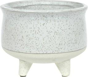 Vaso em Cerâmica com Pé - 9cm
