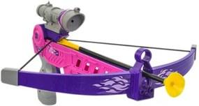 Balestra Infantil - Arco e Flecha - Roxo - Unik Toys