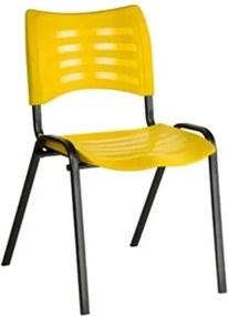 Cadeira Fixa para Escritório Amarelo