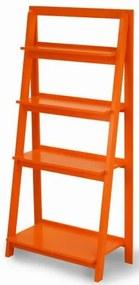 Estante Escada Conceito Cor Laranja - 38950 Sun House