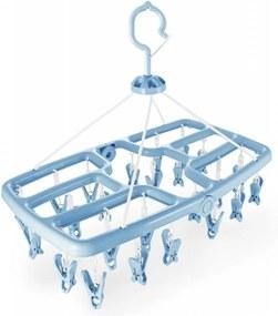 Mini Varal com 24 Prendedores Jacki Design Lifestyle Azul
