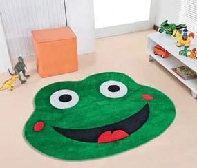 Tapete Formato Big Sapo Feliz - Verde Bandeira