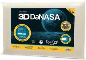Travesseiro Duoflex -3D Danasa Alto