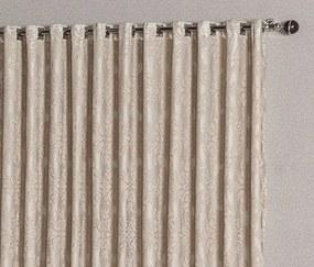 Cortina Renda 4,00m x 2,60m para Varão Simples - Bege