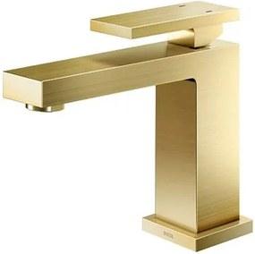 Misturador Monocomando para Banheiro Mesa Bica Baixa New Edge Ouro Escovado - 00925372 - Docol - Docol