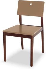 Cadeiras para Cozinha Flip 81 cm 921 Cacau/Marrom Médio - Maxima