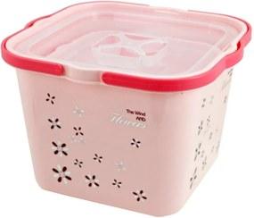 Caixa Organizadora com 2 Peças Jacki Design Organizadores Rosa