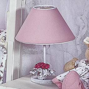 Abajur Provence Rosa