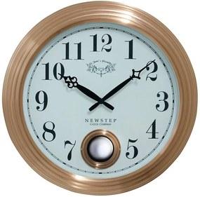 Relógio de Parede Edith Rose Goldway - 42x9 cm