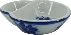 Azeitoneira em Porcelana Azul Colonial