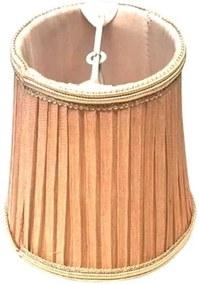 MINI CÚPULA bege p/ lâmpada vela 12,4cm Bella HU052CEQ