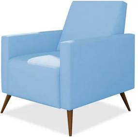 Poltrona de Amamentação Fixa Gabi Corino Azul Bebê - Phoenix