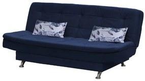 Sofá Cama Casal Reclinável Salomé - Azul light com almofada 422