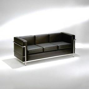 Sofá LC2 Studio Mais Design by Le Corbusier