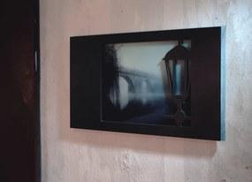Escultura de Parede Lampe