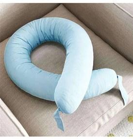 Almofada Bebê Mami Protetora 3 em 1 Azul Grão de G