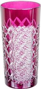 Copo alto de cristal Lodz para Água de 350 ml – Framboesa