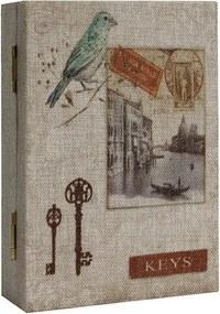 Porta Chaves Book Bird Veneza