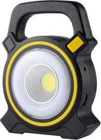 Lanterna Holofote Thata Esportes Emergência Carregamento USB Solar Luz LED PowerBank