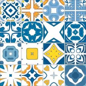 Adesivo para Azulejo Azul Royal
