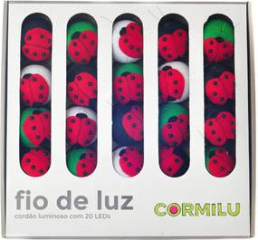 Luminária Decorativa Joanas - 110V Cormilu Vermelho
