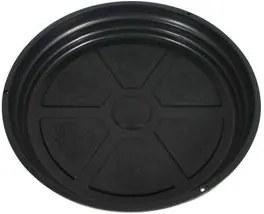 Prato para Vaso Plástico Nutriplan Preto N°2