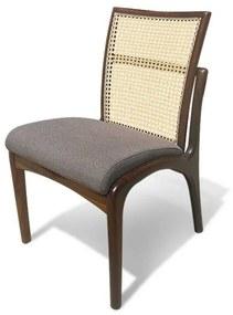 Cadeira Tela Palhinha Indiana Madeira Maciça Design by Vladimir Kagan