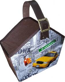 Cesto Organibox Revisteiro - Nova York  39x35x16