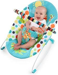 Cadeira de descanso Bright Starts Safari maluquinho Azul