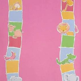 Papel De Parede Safari Friends Belga Sf6212