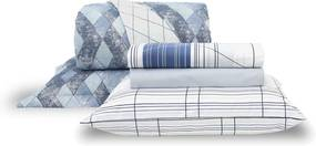 Kit Cama 100% Algodão Home Design Graphic