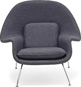 Poltrona Womb Aço Inox Artesian Clássicos de Design by Eero Saarinen