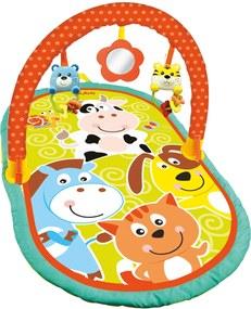 Tapete Atividades Baby - Animais Buba Laranja