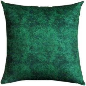 Capa Almofada Veludo Lyon estampado 43x43cm - escolha suas estampas - Verde marmore CLY028