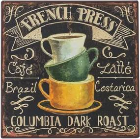 Placa Decorativa Dark Roast