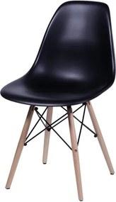 Cadeira Infantil Eiffel Eames DSW Preto