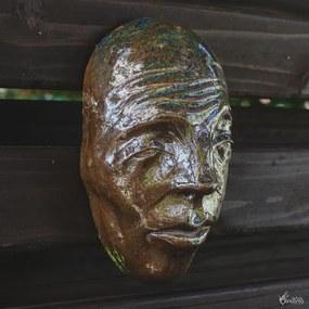 Máscara Decorativa em Cerâmica | Tatu