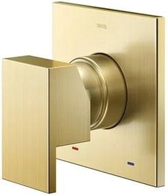 Acabamento Monocomando para Chuveiro e Ducha Higiênica New Edge/Mínima Ouro Escovado - 00926072 - Docol - Docol