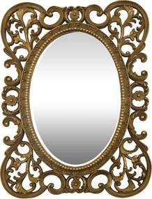 Espelho com Moldura Decorativa François - 31x3x41cm
