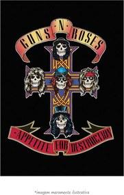 Poster Appetite - Guns N' Rose (60x90cm, Apenas Impressão)