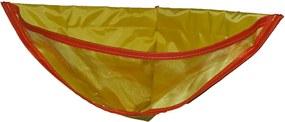 Organizador de Brinquedo Organibox para banho amarelo