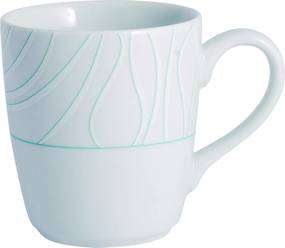 Caneca Porcelana Schmidt 225 ml - Dec. Blue Oak
