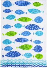 Pano de Copa Felpudo Fish 2