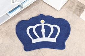 Tapete Guga Tapetes Formato Big Coroa Azul Royal