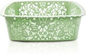 Cesto Organizador Lifestyle Quadrado Médio Verde - Jacki Design