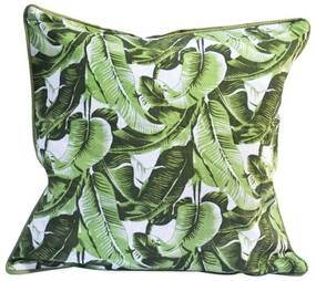 Capa de Almofada Tropical   Bananeira